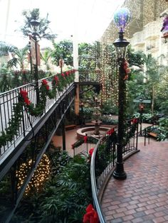 Lovely Gaylord Opryland Hotel