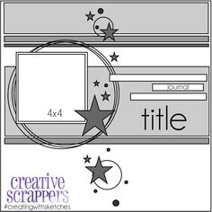 Creative Scrappers: CS January Sketch