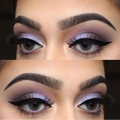 """Lavender smokey eyes by ✨@chelseasmakeup✨ wearing #LuxyLash """"KEEP IT """" lashes! Brows, liner, & lashes on point! #Goals  FREE SHIPPING ON ALL US ORDERS! Try out a pair of our luxurious mink lashes today! Upgrade your lash game! SHOP: www.luxy-lash.com"""
