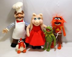 Felted Muppets