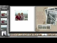 Stampin' Up! My Digital Studio Video, Quickly add a photo as a background
