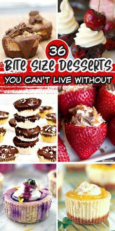 Individual Desserts, Small Desserts, Bite Size Desserts, Desserts To Make, Mini Desserts, Best Dessert Recipes, Delicious Desserts, Easy Mini Cheesecake Recipe, Mini Chocolate Cheesecake