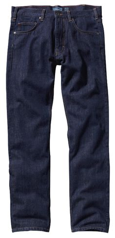 Patagonia Mens Straight Fit Jeans - Dark Denim - Patagonia