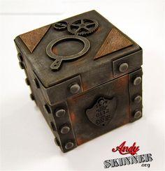 Steampunk Gallery - Andy SkinnerThe Book Of Secrets