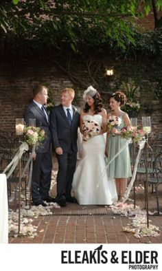 Wedding at The Firehouse in Old Sacramento Ceremony Details