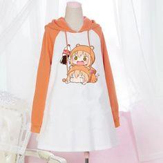 Fleece / Hooded / Pullover / from Asian Cute {Kawaii Clothing} Harajuku Mode, Harajuku Fashion, Kawaii Fashion, Cute Fashion, Kpop Outfits, Anime Outfits, Fashion Outfits, Kawaii Dress, Kawaii Clothes