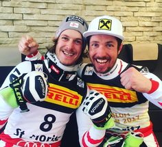 ;@marcel__hirscher 🥇🇦🇹 @manuel.feller.official 🥈🇦🇹 #austriapowerteam Austria, Skiing, Instagram Posts, Sports, Jackets, Men, Fashion, Ski, Hs Sports