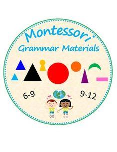 Montessori Grammar Materials and by Julie Frampton Tenses Chart, Verb Tenses, Subject And Predicate, Subject And Verb, Classroom Charts, Montessori Elementary, Montessori Materials, Teacher Newsletter, Homemaking