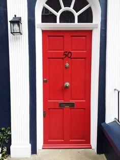 London red door