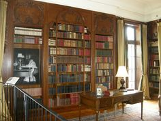 Edith Wharton's private library at The Mount (Lenox, Massachusetts)