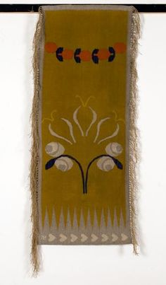A rug designed by Karol Tichy in 1901