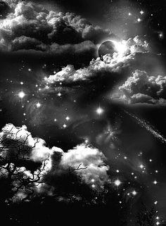 Most Popular galaxy tattoo sleeve black and white beautiful 31 ideas Galaxy Black And White, Black And White Clouds, White Sky, Night Clouds, Sky And Clouds, Tattoo Cou, Galaxy Tattoo Sleeve, Night Sky Tattoos, Moon Star Tattoo