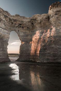 After The Rain, Monument Rocks National Natural Landmark