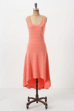 Striped Terry Midi Dress #anthropologie