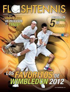 Roger Federer, Rafael Nadal y Novak Djokovic en la portada de Flashtennis No. 10   www.flashtennis.com