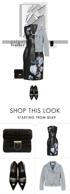"""Patent.."" by elenamp07 ❤ liked on Polyvore featuring Givenchy, Alexander McQueen, Yves Saint Laurent, Acne Studios, Fallon, fab, patentleather and waystowear"