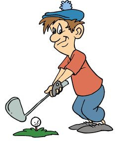 free cartoon golf clip art 25 golf clip art best clip art blog rh pinterest com  free clipart images+golf ball