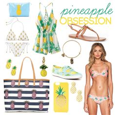Pineapple Obsession | Bows, Pearls & Sorority Girls