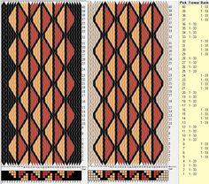 Geométrico - 33 tarjetas, 4 colores, secuencia 4F-4B // sed_281 diseñado en GTT༺❁