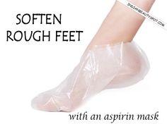 Soften Rough Feet with an aspirin mask : ♥ IndianBeautySpot.Com ♥