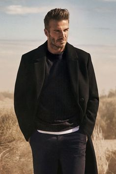 19c694467 David Beckham shows you how to wear his new H&M Modern Essentials line  #socceressentials Kevin