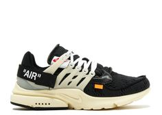 Off White X Nike 2018 THE 10 AIR PRESTO OFF WHITE aa3830 001 Black Muslin