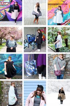 #naehdirwas 2017 - meine selbstgenähten Plus Size Outfits Plus Size Kleidung, Plus Size Outfits, Sequin Skirt, Curvy, Sequins, Skirts, Inspiration, Fashion Styles, Sew Dress