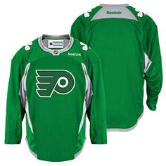 e2f48579c Get this Philadelphia Flyers St. Patrick s Day Practice Jersey at  PhillyTeamStore.com