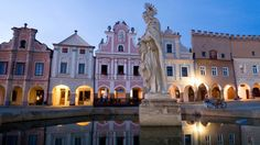 Czech Republic - Historic Centre of Telč Heritage Institute, Centre, Gothic Castle, Urban Fabric, Heritage Center, Central Europe, Places Of Interest, 14th Century, Eastern Europe