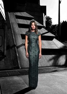 David Jones AW15 Campaign // Amelia Gown