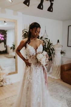 Available Colors: Ivory/Nude/Nude (pictured) Ivory/Ivory/Nude Bridal Collection, Fashion Forward, Chloe, Bloom, Ivory, Nude, Sea, Wedding Dresses, Board