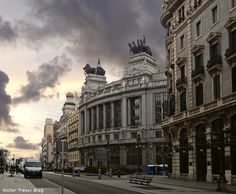 Madrid is the imperial city. http://victortravelblog.com/2013/02/05/youre-in-madrid/