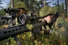 Norwegian Armed Forces army soldiers.