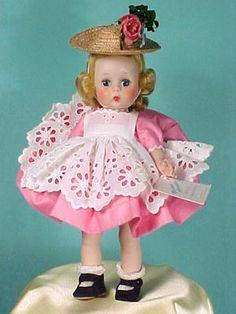Wendy Wears An Eyelet Pinafore, circa 1954(#4)