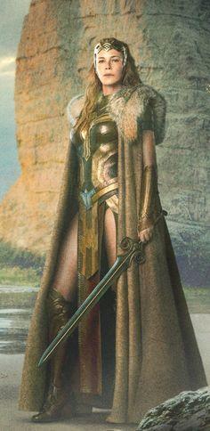 Connie Nielsen is Queen Hippolyta - WONDER WOMAN