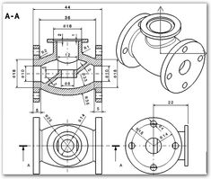 icu ~ Pin en MechanicalCad design ~ - Solidworks model 0010 in 2020 Isometric Drawing Exercises, Autocad Isometric Drawing, Mechanical Engineering Design, Mechanical Design, Interesting Drawings, Detailed Drawings, Sheet Metal Drawing, Cad 3d, Learn Autocad