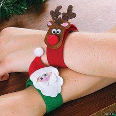 pulserinhas de eva para o natal Mais