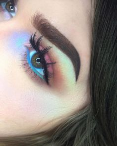Uploaded by Cecilie Nielsen. Find images and videos about makeup, eyes and make up on We Heart It - the app to get lost in what you love. Pretty Makeup, Love Makeup, Makeup Inspo, Makeup Art, Makeup Inspiration, Beauty Makeup, Hair Makeup, Makeup Goals, Makeup Tips