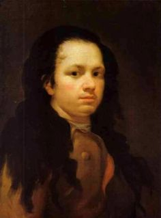 Francisco Goya - Self Portrait – c. 1773