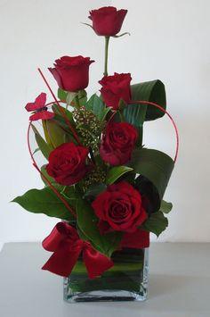 valentine floral arrangements | Valentines Arrangement