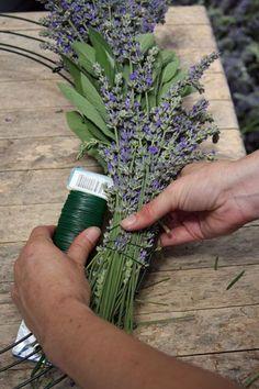 DIY Lavender Wreath, sagenhaft schönes Tuto für fülligen, tollen Kranz inkl. andere Sachen drinn