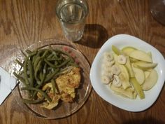 Military diet. Dinner. Day one
