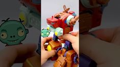😱 Zombot Transformer Mega Boss - Plants vs Zombies 2 🧨Lego Zombie 2, Plants Vs Zombies, Transformers, Lego, Boss, Toys, Legos