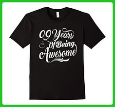 Mens 9th Birthday Gifts - 9 Years Of Being Awesome T-shirt Large Black - Birthday shirts (*Amazon Partner-Link)
