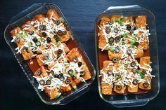 Chicken Enchiladas for a Crowd