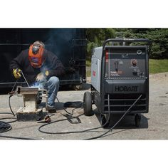 The Hobart® Champion™ Elite 23 HP, 11,000 Watt multipurpose welder/generator can simultaneously handle welding jobs and act as a generator to provide on-site power for tools and more.