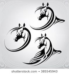 Find Vector Silhouette Horses Head stock images in HD and millions of other royalty-free stock photos, illustrations and vectors in the Shutterstock collection. Horse Head, Horse Art, Horse Stencil, Doodle Drawing, Lion Wallpaper, Horse Logo, Illustrator, Horse Drawings, Scroll Saw Patterns