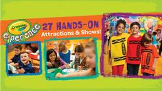 Visit the Crayola Experience in Easton, PA - DISCOUNT TICKETS! - Heidi's Head