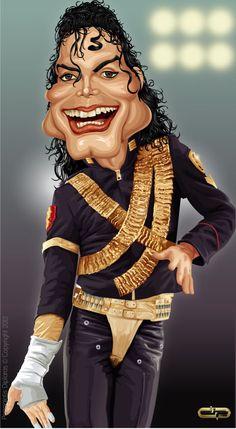 Michael Jackson lustiges Gesicht