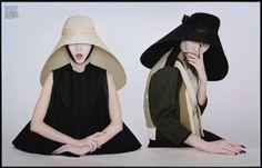 """""""Magical Thinking"""": Asia Chow, Liu Wen, and Xiao Wen Ju by Tim Walker for W Magazine"""
